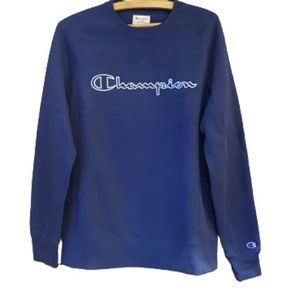 BRAND NEW! Champion Crew Neck Sweater in Navy